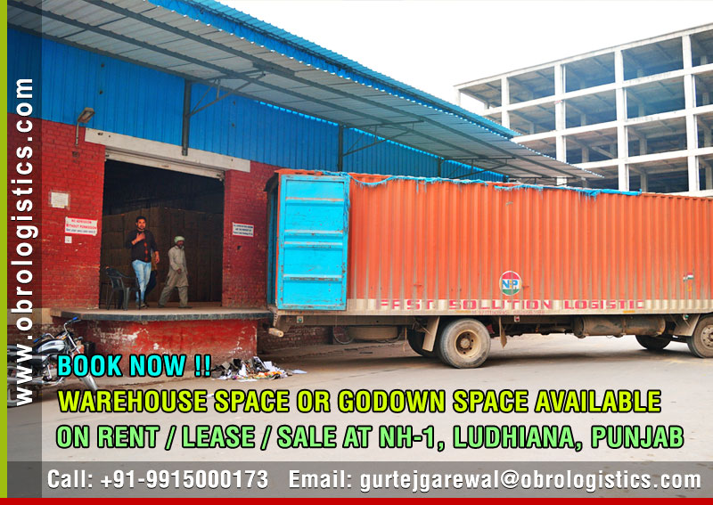 Godown on rent lease in Ludhiana Punjab