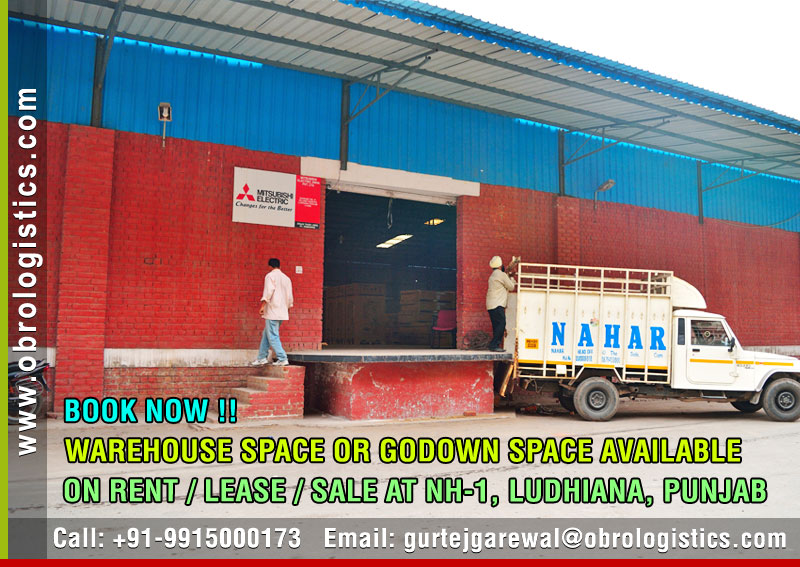 Warehouse for rent lease in Ludhiana Punjab