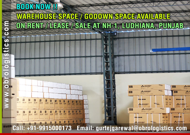 Godown space on rent lease in Ludhiana Punjab