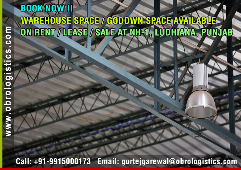 goods storage warehouse on rent lease in ludhiana punjab